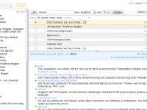 "Screnshot des Feedreaders ""Tiny Tiny RSS"""