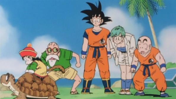 """Szene aus """"Dragon Ball Kai"""""""
