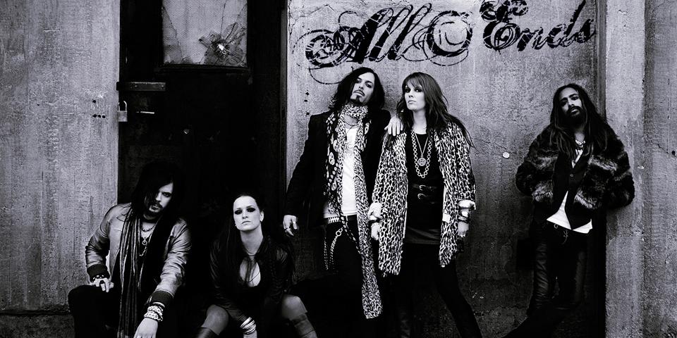 Mitglieder der Band All Ends.