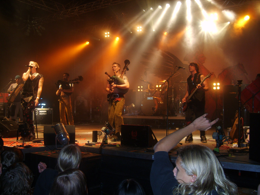 Auftritt von In Extremo auf dem Steiner Burgfestival 2009