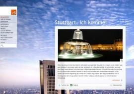 Screenshot des alten Design von derbenni.de