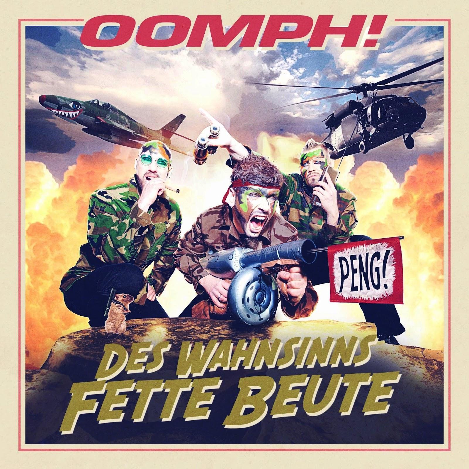 "Cover des neuen Albums von Oomph: ""Des Wahnsinns Fette Beute"""