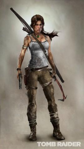 Bild von Lara Croft, der Hauptfigur aus Tomb Raider