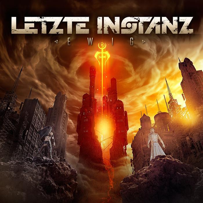 """Cover des neuen Albums """"Ewig"""" der deutschen Band Letzte Instanz"""
