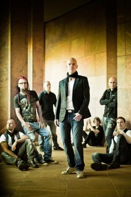 """Pressefoto der Band Letzte Instanz zum Release ihres letzten Albums """"Heilig"""""""