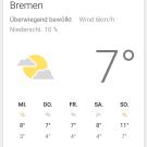 Screenshot von Google Now von Android 5.0 (Lollipop)